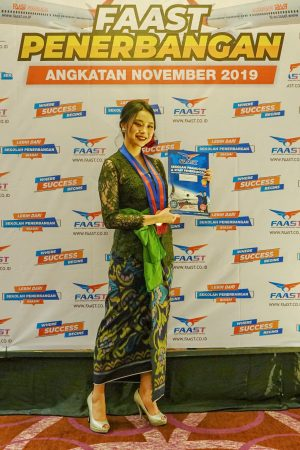 Karir Siswa FAAST Penerbangan Naulya Intan